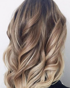 Техника окрашивания волос балаяж