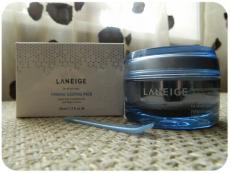 Ночная маска для упругости кожи лица Firming Sleeping Pack от Laneige