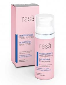 Питательный крем для чувствительной кожи лица от Rasa
