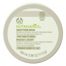 Разглаживающая маска для лица Nutriganics от The Body Shop (1)