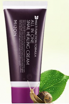 Крем для лица Snail Healing Cream All-In-One от Mizon