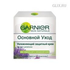 Увлажняющий защитный крем для нормальной и смешанной кожи от Garnier