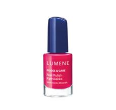 Лак для ногтей с минеральным комплексом Gloss & Care (оттенки № 6 Arctic Sky, № 8 Full of Berries) от Lumene