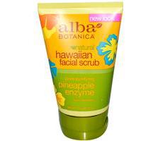 "Энзимный скраб для лица Natural Hawaiian Facial Scrub ""Pineapple Enzyme"" от Alba Botanica"
