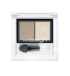 Тени для век High Shine duo eyeshadow (оттенок № 24 Cinnamon parfait) от MissLyn