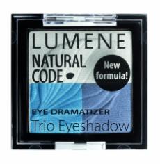 Тройные тени для век Natural Code Eye Dramatizer (оттенок № 6 Smoky) от Lumene