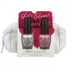 """Набор лаков для ногтей """"Let's Elope!"""" (оттенки NL L03 Rosy Future и NL S79 Kyoto Pearl) от OPI"""