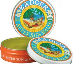 Крем после загара After Sun Balm (Blue Tansy & Lavender) от Badger Company