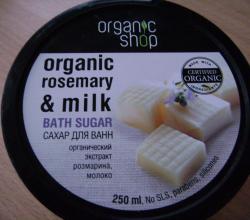 """Сахар для ванны """"Молочная карамель"""" от Organic Shop"""