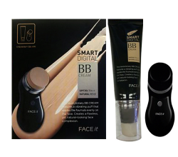 BB-крем FACE IT SMART DIGITAL BB CREAM SPF30, PA++ (оттенок № 01 Light Beige) от The Face Shop