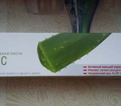 Укрепляющая зубная паста Organic от Splat Special