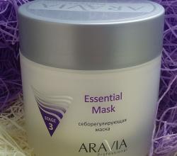 Себорегулирующая маска для жирной кожи лица Essential mask от Aravia Professional