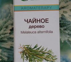 100% натуральное эфирное масло чайного дерева от Oleos