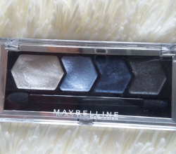 Тени для век Silk glam by Eye Studio (оттенок № 10 Blue drama) от Maybelline