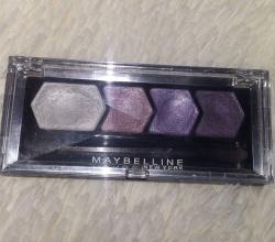 Тени для век Silk glam by Eye Studio (оттенок № 11 Purple drama) от Maybelline