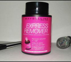 Экспресс-средство для снятия лака Express Remover от Maybelline
