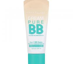 ВВ крем Dream Pure BB (оттенок Medium) для жирной кожи от Maybelline