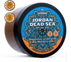 Иорданская натуральная грязь Мертвого моря Jordan Dead Sea серии Hammam organic oils от Natura Vita