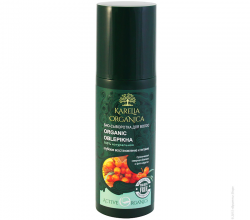Био-сыворотка для волос Organic Oblepikha глубокое восстановление и питание от Karelia Organica