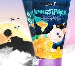 Очищающая маска для лица с 24 каратным золотом Kangsi Pack Milky Piggi от Elizavecca