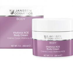 Насыщенный крем для тела с витаминами A, C, E VITAFORCE ACE BODY CREAM от Janssen Cosmetics