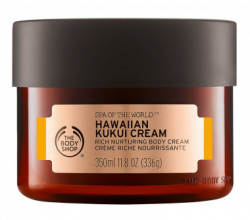 "Крем для тела ""HAWAIIAN KUKUI"" из серии Spa of the world от The Body Shop"