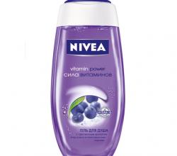 """Гель для душа """"Сила витаминов"""" от Nivea"""