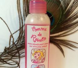 Спрей, облегчающий расчесывание волос из серии POMME DE REINETTE от Yves Rocher