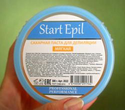 Сахарная паста для депиляции Мягкая от Start Epil