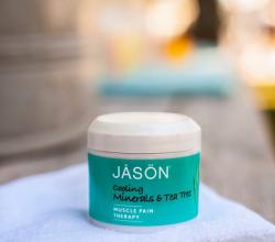 Минеральный гель Cooling Mineral Gel Tea Tree от Jason Natural