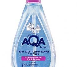 Гель для подмывания девочек от Aqa baby