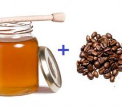 Кофейно-медовый скраб для тела