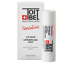 Бальзам для губ Sensitive Lip Balm от Toitbel