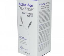 Питательный тонизирующий эликсир для лица и шеи Active Age Defense, Nutrient Toning Elixir от Earth Science