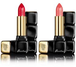 Помада для губ Kiss Kiss Lipstick Le Rouge Creme Galbant Shaping Cream Lip Colour (оттенок № 302 Romantic Kiss) от Guerlain
