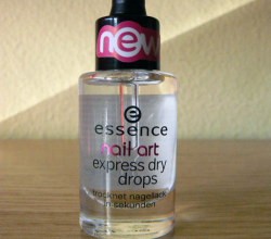 Сушка для ногтей exspress dry drops от Essence