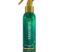 Спрей «Термозащита и блеск» для нормальных волос от Pantene PRO V