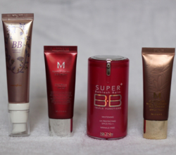 Тональные BB кремы: Trouble Care BB Cream SPF27 от Innisfree, BB cream SPF42 от Missha M Perfect и др.