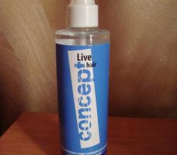 Кондиционер смягчающий для волос Защита и увлажнение Live Hair Multi-protective spray hair от Concept