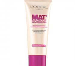 Тональный крем Mat Magique от L'Oreal