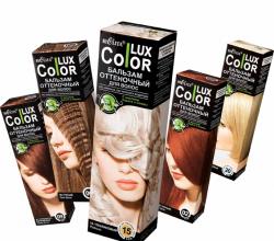 """Оттеночный бальзам для волос """"Color Lux"""" от Bielita"""