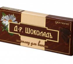 Шоколад для ванны от DNC