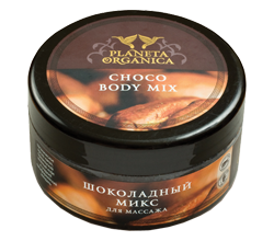 Шоколадный микс для массажа от PLANETA ORGANICA