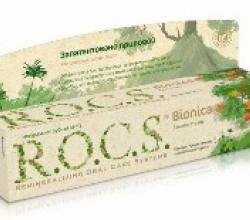 Натуральная зубная паста Bionica от R.O.C.S.