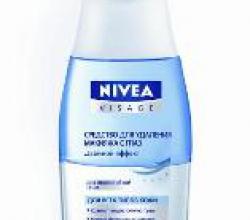"""Средство для удаления макияжа с глаз """"Двойной эффект"""" от Nivea"""
