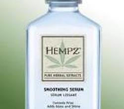Разглаживающая Сыворотка для волос Smoothing Serum от HEMPZ