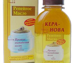 Масло репейное двухфазное против выпадения волос Кера-Нова от Floresan