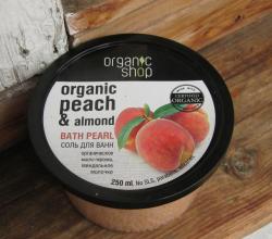 """Соль для ванн """"Миндальный персик"""" от Organic Shop"""