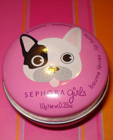 Бальзам для губ Girls lip balm raspberry от Sephora