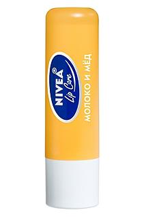 """Бальзам для губ """"Мед и молоко"""" от Nivea"""
